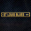 NHL St. Louis Blues Metal Super Magnet-Avenue