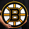 Boston Bruins Large NHL STEEL Logo Sign