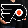 LARGE Philadelphia Flyers STEEL Logo Sign