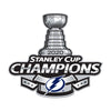 Tampa Bay Lightning Laser Cut Steel Logo Statement Size- 2020 Champions- Preorder now for mid November shipping