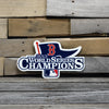 MLB Boston Red Sox WS 2013 Metal Logo