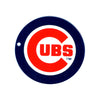 Chicago Cubs Laser Cut Steel Logo Spirit Size-Primary Circle Logo