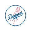 Los Angeles Dodgers Laser Cut Steel Logo Spirit Size-Circle Logo