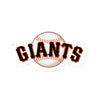San Francisco Giants Laser Cut Steel Logo Spirit Size-Primary Logo