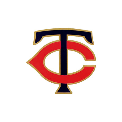 MLB Minnesota Twins T-C Metal Logo