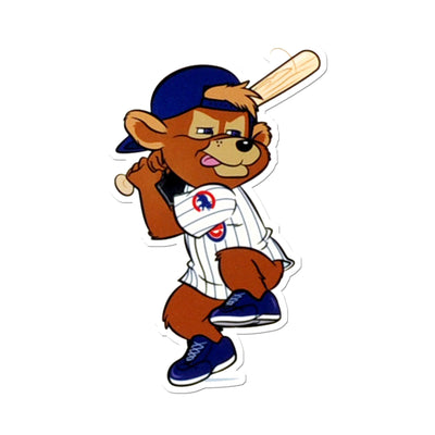 Chicago Cubs Laser Cut Steel Logo Spirit Size-Clark Batting