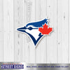 Toronto Blue Jays Laser Cut Steel Logo Spirit Size-Bird Head