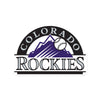 Colorado Rockies Laser Cut Steel Logo Spirit Size-Primary Logo