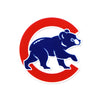 Chicago Cubs Laser Cut Steel Logo Spirit Size-Walking Bear Logo