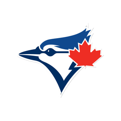 Toronto Blue Jays Laser Cut Steel Logo Statement Size-Bird Head