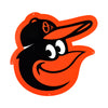 Baltimore Orioles Laser Cut Steel Logo Statement Size- Orioles Bird Head