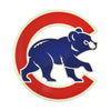 Chicago Cubs Laser Cut Steel Logo Statement Size-Walking Bear
