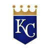 Kansas City Royals Laser Cut Steel Logo Statement Size-Primary Logo