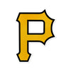 Pittsburgh Pirates Laser Cut Steel Logo Statement Size-Primary Logo