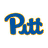 Pittsburgh Panthers Laser Cut Steel Logo Spirit Size-Primary Logo