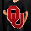 LARGE Oklahoma Sooners OU STEEL Logo Sign