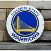 Golden State Warriors STEEL 12 Inch NBA Logo Sign