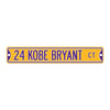 "Los Angeles Lakers Steel Street Sign 6"" Magnet-24 KOBE BRYANT"
