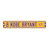 "Los Angeles Lakers Steel Street Sign 6"" Magnet-8 KOBE BRYANT"