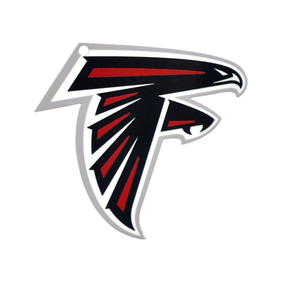 Atlanta Falcons Laser Cut Logo Steel Magnet-Primary Logo