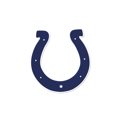 Indianapolis Colts Laser Cut Logo Steel Magnet-Primary Logo