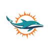 Miami Dolphins Laser Cut Logo Steel Magnet-Primary Logo