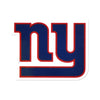 New York Giants Laser Cut Logo Steel Magnet-Primary Logo