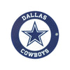 Dallas Cowboys Laser Cut Logo Steel Magnet-Circle Logo