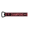 "PRE-ORDER Tampa Bay Buccaneers SBLV Champion Steel Bottle Opener 7"" Magnet Ship Date- 2.25.21"