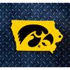 NCAA Iowa Hawkeyes Metal Super Magnet-Logo in State
