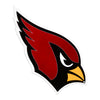 Arizona Cardinals Laser Cut Steel Logo Spirit Size-Primary Logo