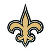 New Orleans Saints Laser Cut Steel Logo Spirit Size-Primary Logo