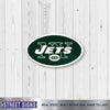 New York Jets Laser Cut Steel Logo Spirit Size-Primary Logo