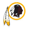 NFL Washington Redskins Metal Logo