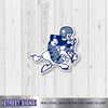 Dallas Cowboys Laser Cut Steel Logo Spirit Size-Vintage Logo