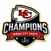 "Kansas City Chiefs 2020 Superbowl Champs 12"" STEEL Logo Sign"