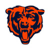 Chicago Bears Laser Cut Steel Logo Statement Size-Primary Logo