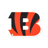 Cincinnati Bengals Laser Cut Steel Logo Statement Size-Primary Logo