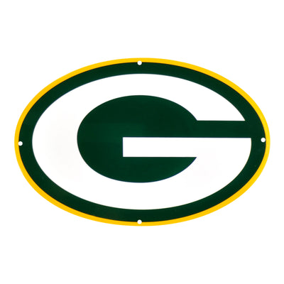 Green Bay Packers Laser Cut Steel Logo Statement Size-Primary Logo