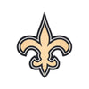 New Orleans Saints Laser Cut Steel Logo Statement Size-Primary Logo