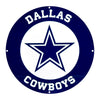 Dallas Cowboys Laser Cut Steel Logo Statement Size-Circle Logo
