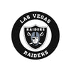 Las Vegas Raiders Laser Cut Steel Logo Statement Size-Circle Logo