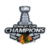 Chicago Blackhawks 2015 Champs STEEL 12 Inch NHL Logo Sign