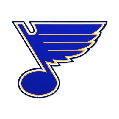 St. Louis Blues STEEL 12 Inch NHL Logo Sign