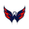 Washington Capitals Wings STEEL 12 Inch NHL Logo Sign