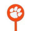 NCAA Clemson Tigers STEEL Garden Stake- Orange