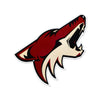 Phoenix Coyotes STEEL 12 Inch NHL Logo Sign