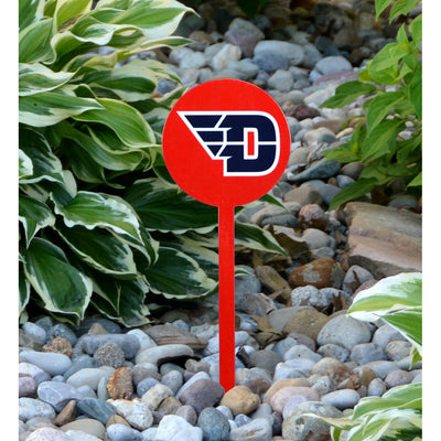 NCAA Dayton Flyers STEEL Garden Stake- Red