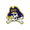 NCAA East Carolina Pirates Metal Super Magnet- Pirate Logo