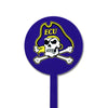 NCAA East Carolina STEEL Garden Stake- Purple